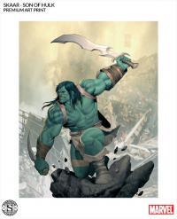 Gallery Image of Skaar Son of Hulk Art Print