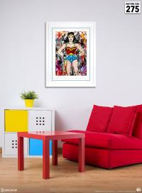 Gallery Image of Golden Age Wonder Woman Art Print