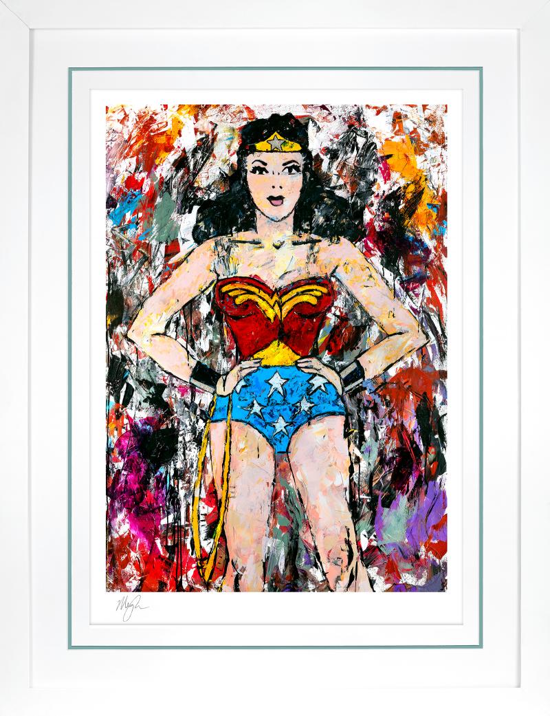 Golden Age Wonder Woman Art Print -