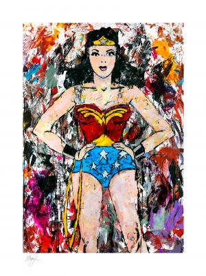 Golden Age Wonder Woman Art Print