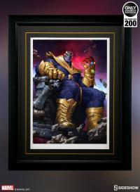 Gallery Image of Thanos on Throne Art Print