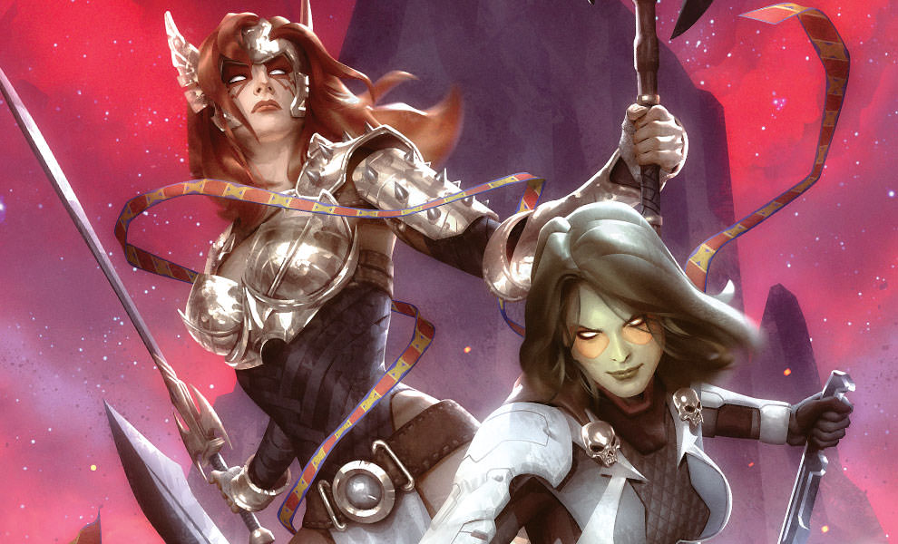 Gallery Feature Image of Gamora Angela Art Print - Click to open image gallery