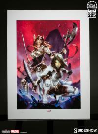 Gallery Image of Gamora Angela Art Print