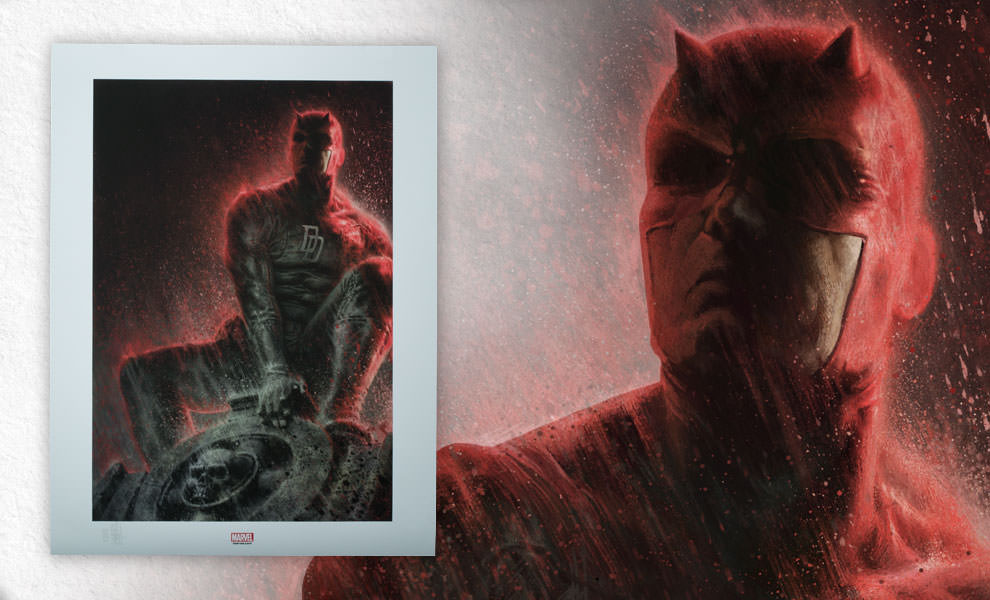 Gallery Feature Image of Daredevil, The Man Without Fear Art Print - Click to open image gallery