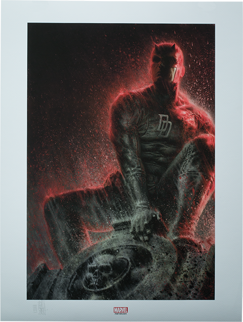 Sideshow Collectibles Daredevil, The Man Without Fear Art Print