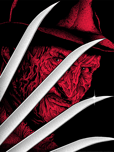Sideshow Collectibles Freddy Krueger Art Print