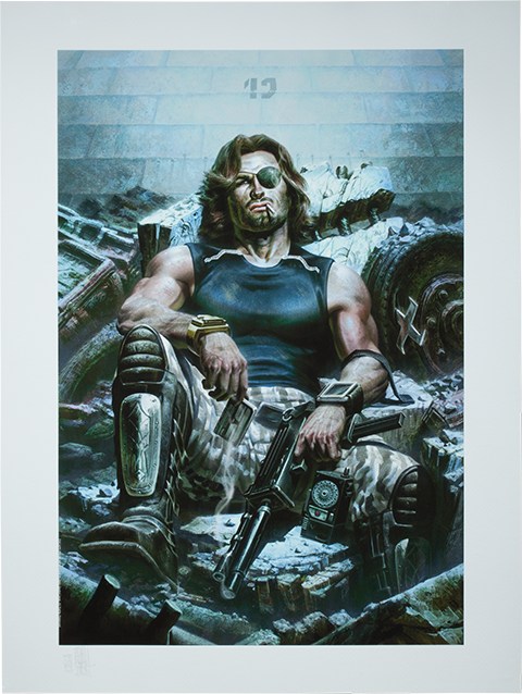 Sideshow Collectibles Snake Plissken Art Print