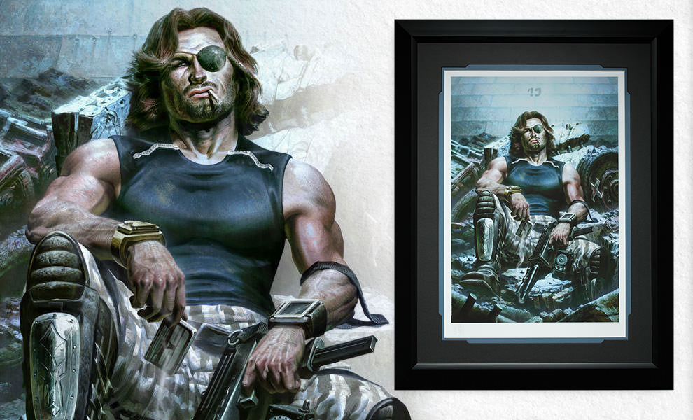 Gallery Feature Image of Snake Plissken Art Print - Click to open image gallery