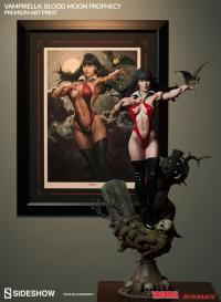 Gallery Image of Vampirella Blood Moon Prophecy Art Print