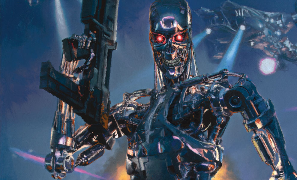 Gallery Feature Image of Terminator 2 Future Wars Art Print - Click to open image gallery
