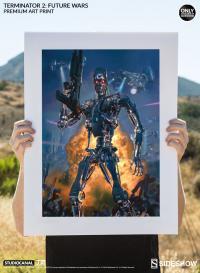 Gallery Image of Terminator 2 Future Wars Art Print