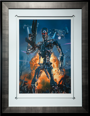 Terminator 2 Future Wars Art Print