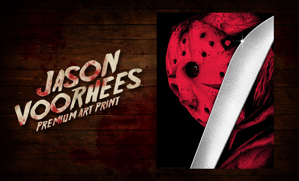 Gallery Feature Image of Jason Voorhees Art Print - Click to open image gallery