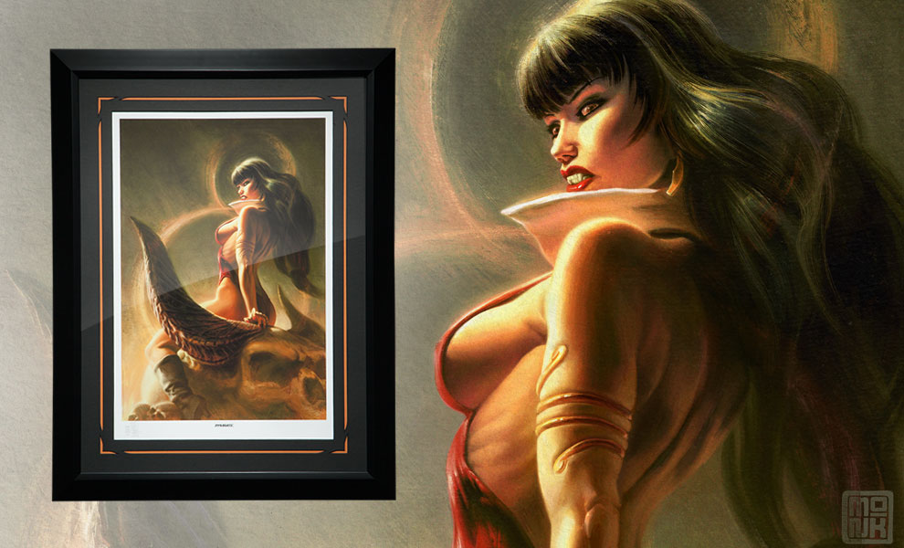 Gallery Feature Image of Vampirella The Bloodletting Art Print - Click to open image gallery