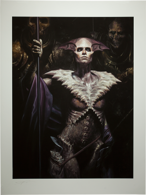 Xiall: Vanguard of Bone Art Print