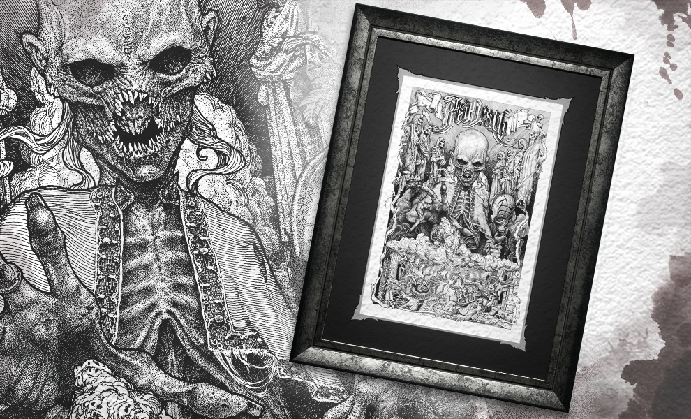 Gallery Feature Image of The Red Death Art Print - Click to open image gallery