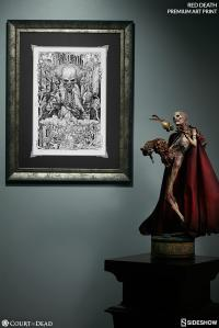 Gallery Image of The Red Death Art Print