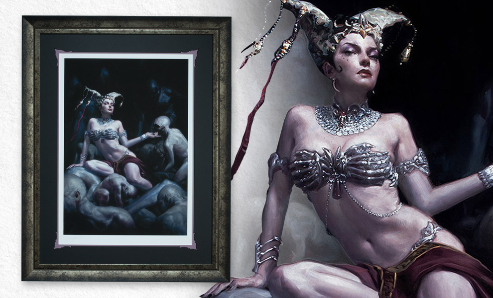 Gallery Feature Image of Gethsemoni Shaper of Flesh Art Print - Click to open image gallery