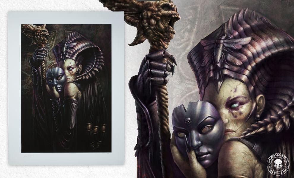 Gallery Feature Image of Cleopsis Unmasked  Art Print - Click to open image gallery