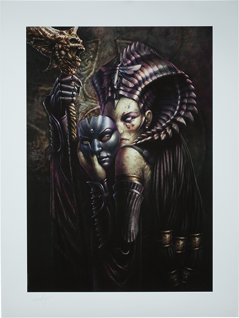 Sideshow Collectibles Cleopsis Unmasked  Art Print