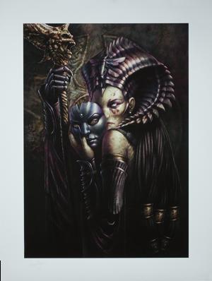 Cleopsis Unmasked  Art Print