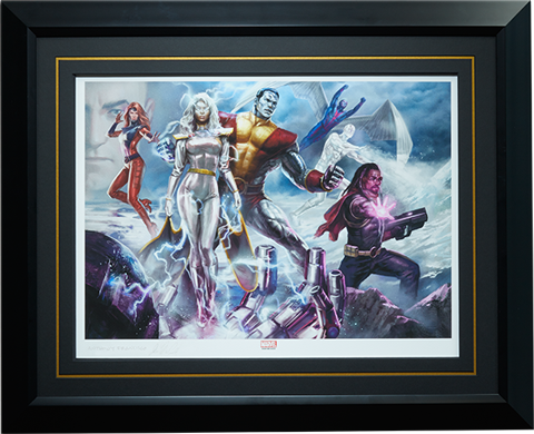 Sideshow Collectibles X-Men Gold Team Art Print