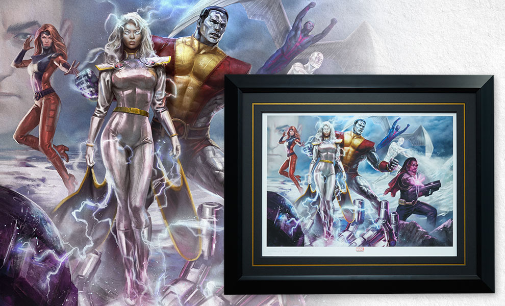 Gallery Feature Image of X-Men Gold Team Art Print - Click to open image gallery