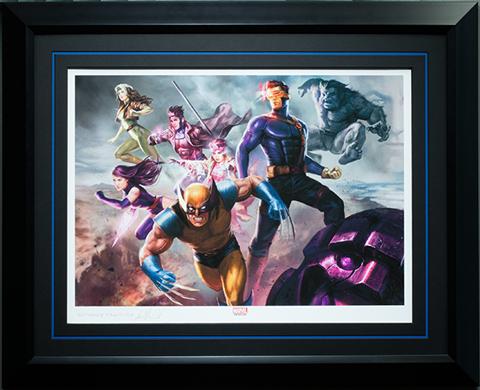 Sideshow Collectibles X-Men Blue Team Art Print