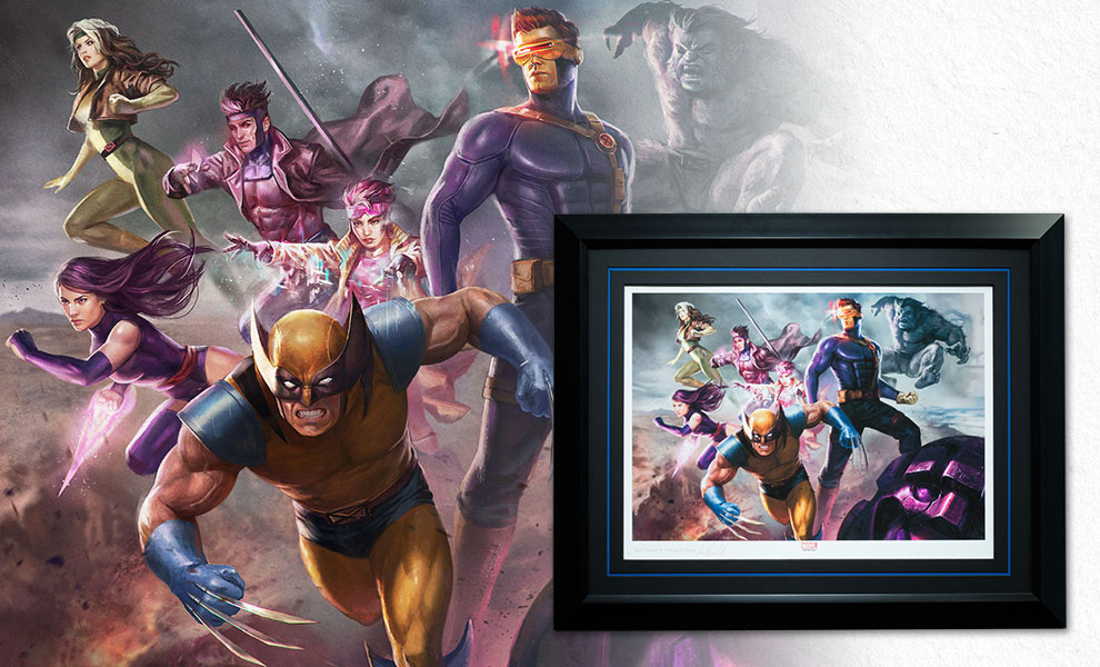 Gallery Feature Image of X-Men Blue Team Art Print - Click to open image gallery