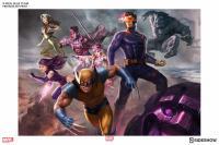 Gallery Image of X-Men Blue Team Art Print