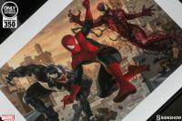 Gallery Image of Spider-Man vs Venom and Carnage Art Print