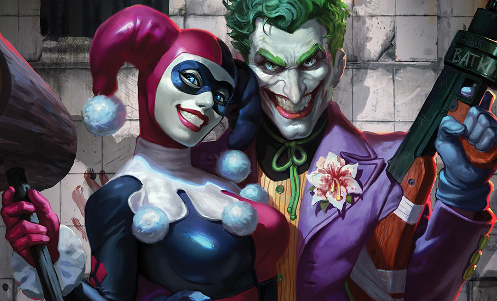 Gallery Feature Image of The Joker Harley Quinn Art Print - Click to open image gallery