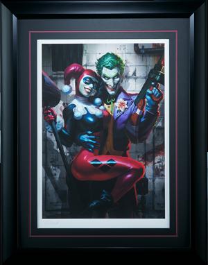 The Joker Harley Quinn Art Print