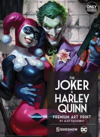 Gallery Image of The Joker Harley Quinn Art Print