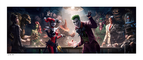 Sideshow Collectibles The Rogues Gallery Art Print