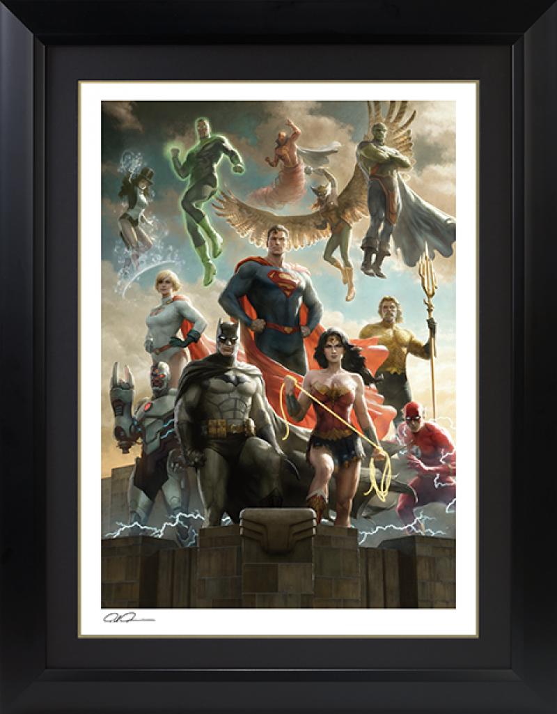 The Justice League Art Print -