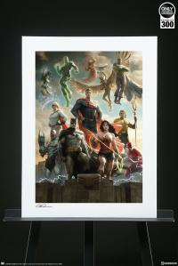 Gallery Image of The Justice League Art Print