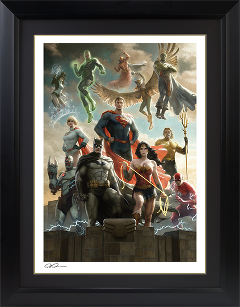 Sideshow Collectibles The Justice League Art Print