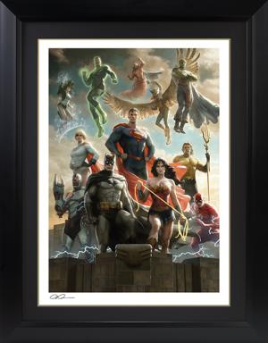 The Justice League Art Print