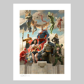 The Justice League: Classic Variant Art Print