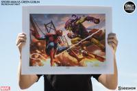 Gallery Image of Spider-Man vs Green Goblin Art Print