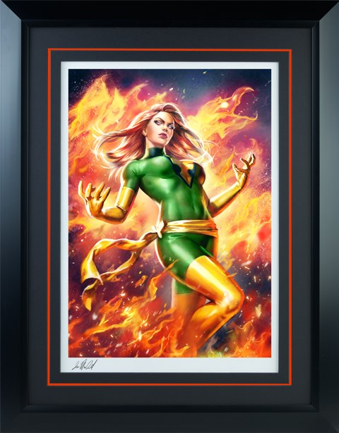 Sideshow Collectibles Phoenix Jean Grey Variant Art Print