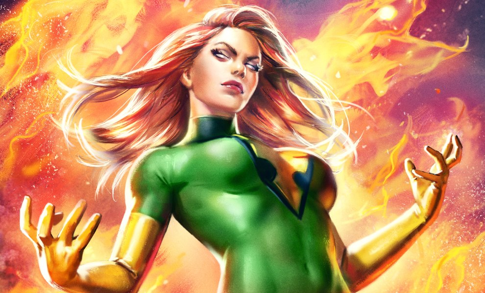 Gallery Feature Image of Phoenix Jean Grey Variant Art Print - Click to open image gallery