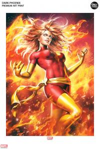 Gallery Image of Dark Phoenix Art Print