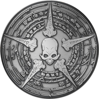 Sideshow Collectibles The Signet of Bone Faction  Collectible Pin