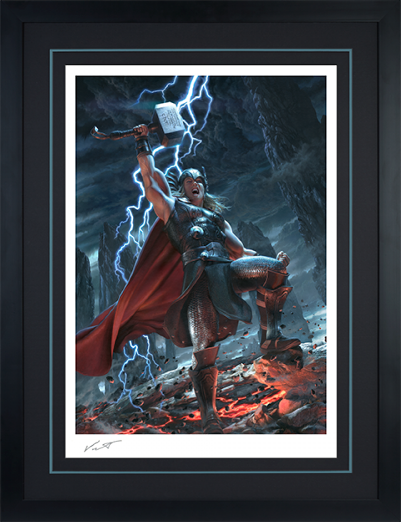 Thor: Breaker of Brimstone Art Print -