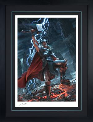 Thor: Breaker of Brimstone Art Print
