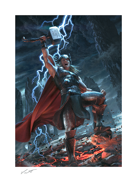 Vanderstelt Studio Thor: Breaker of Brimstone Art Print