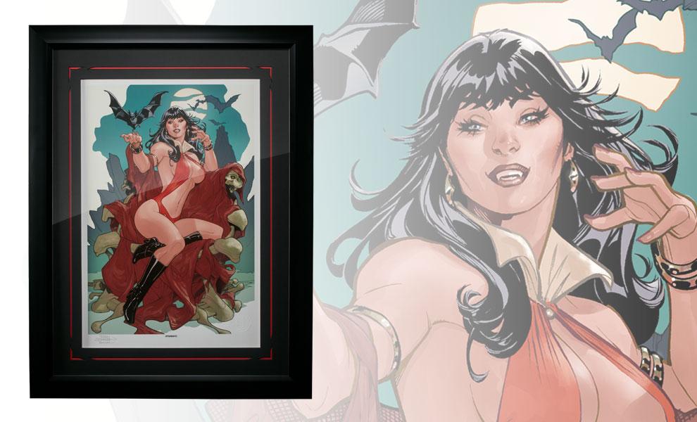 Vampirella A Scarlet Thirst Art Print feature image