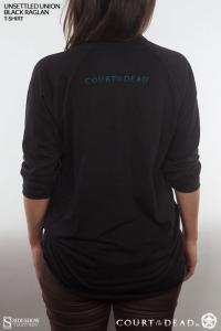 Gallery Image of Unsettled Union Black Raglan T-Shirt Apparel